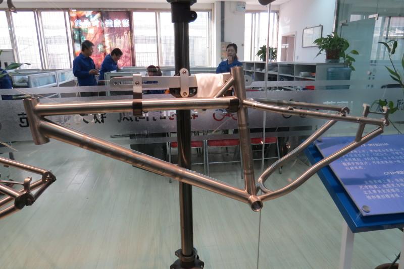 Titanium frames are beautiful!