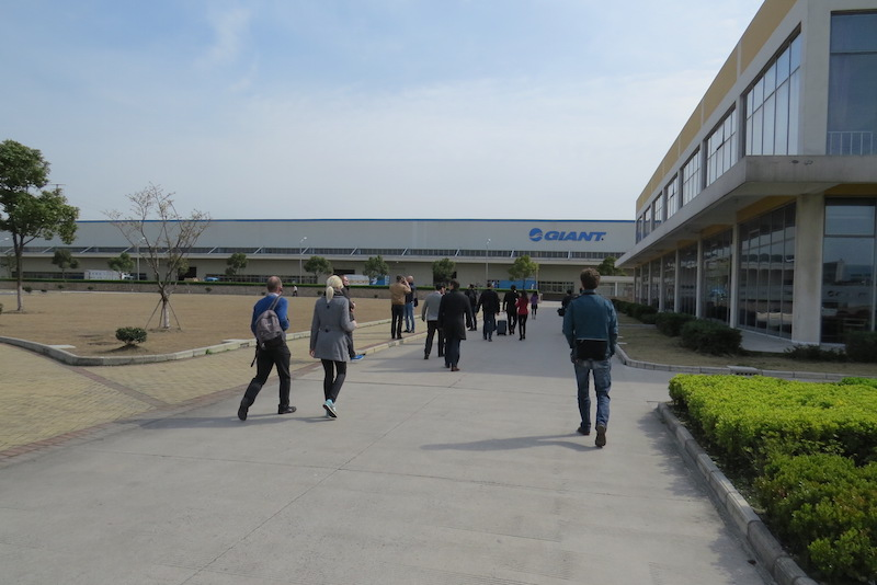 giant bicycles factory