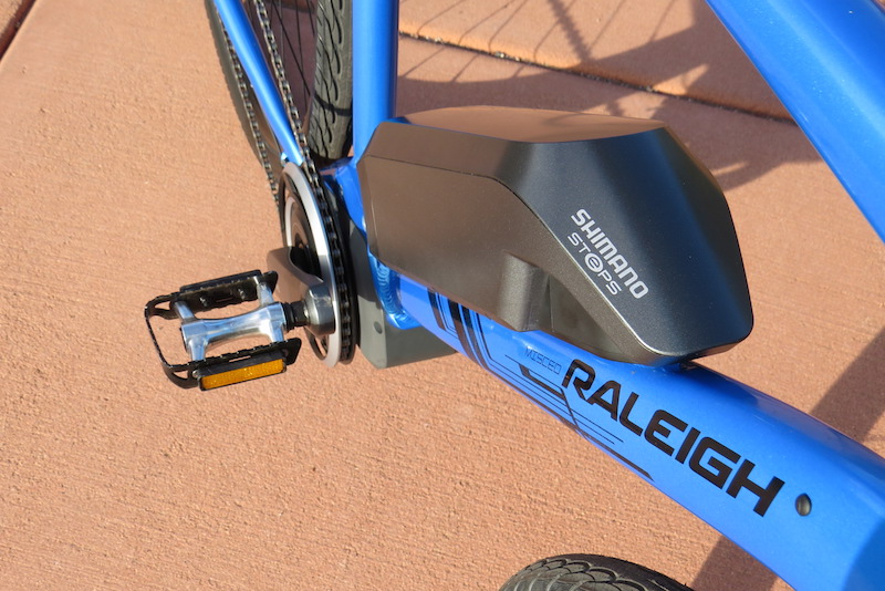 raleigh misceo electric battery