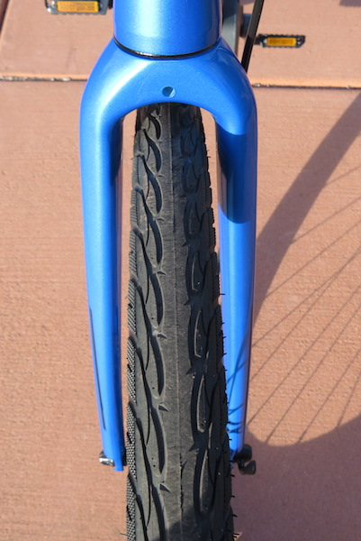 raleigh misceo electric front tire
