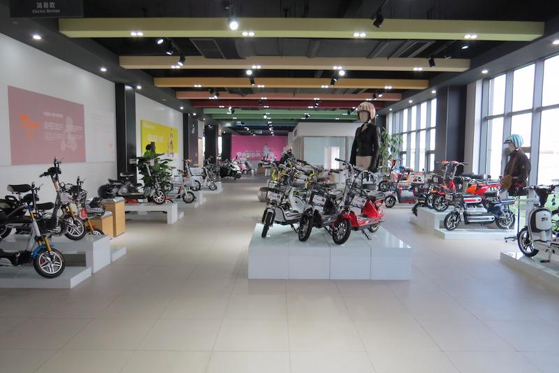 yadea bikes showroom