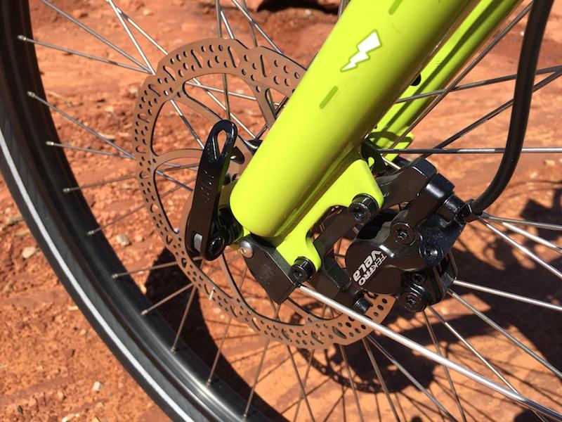 yuba spicy curry electric cargo bike disc brake