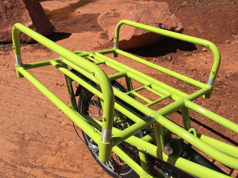 yuba spicy curry electric cargo bike rack