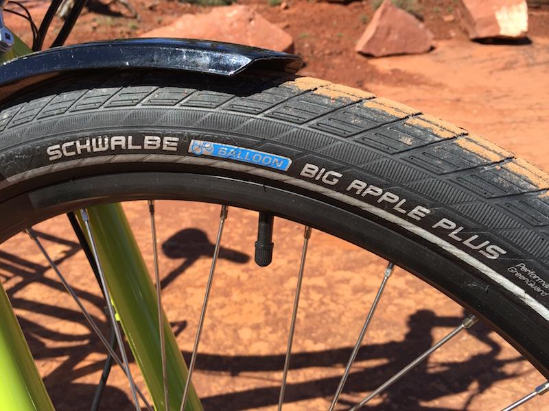 yuba spicy curry electric cargo bike tires