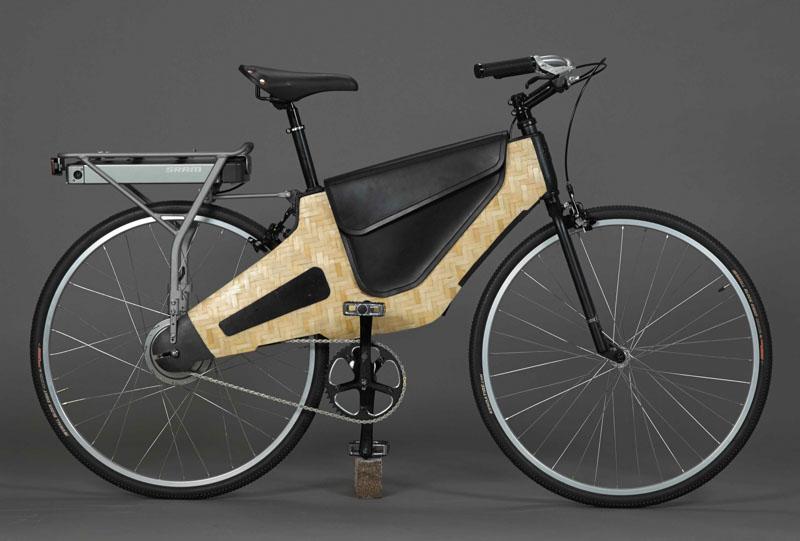HERO bike bamboo electric bike