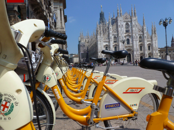 Milan's BikeMi bike share program is adding 1,000 electric bikes to it's fleet.