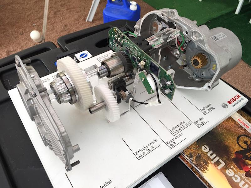 bosch ebike motor inside