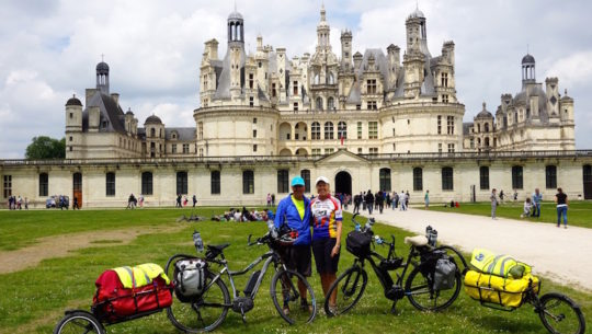 E-Bike Touring & Breathtaking Scenery in France's Loire Valley