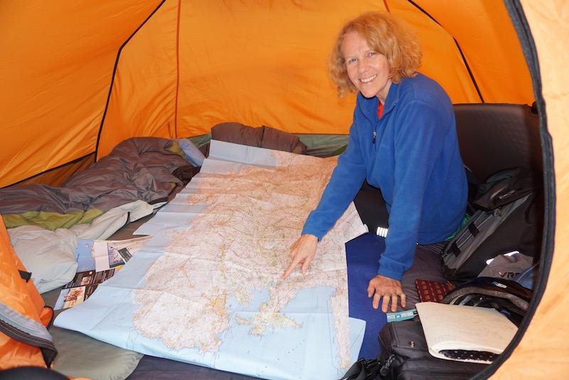rachel map