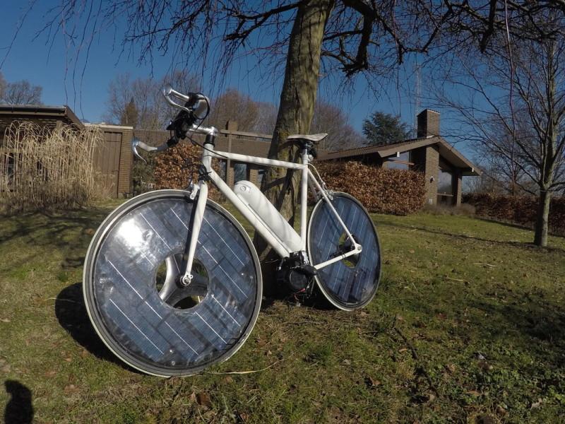 solar electric bike