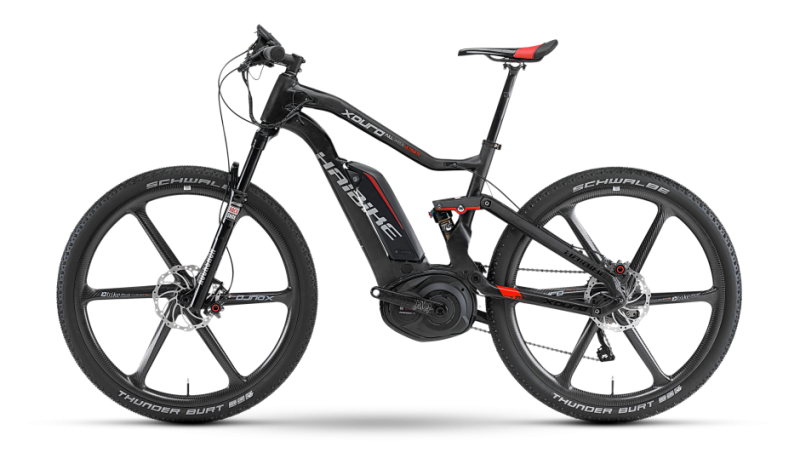 Haibike Carbon Ultimate electric mountain bike