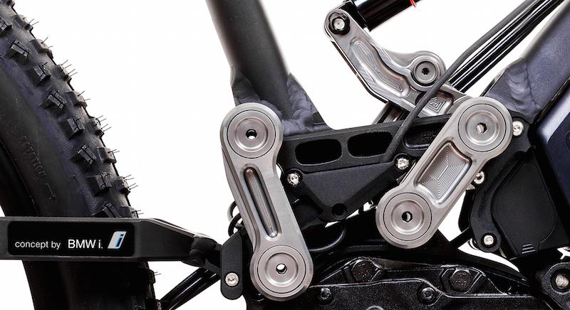 Heisenburg XF1 full suspension linkage