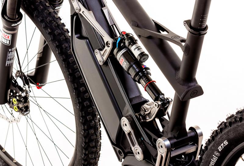 Heisenburg electric bike XF1 battery