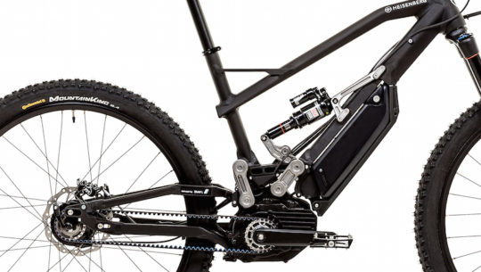 New Heisenberg Electric Bikes with BMW Design
