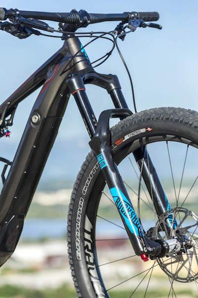 Specialized Levo electric mountain bike fork