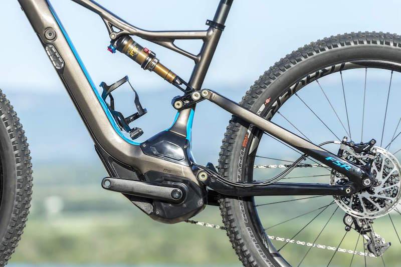 Specialized Levo electric mountain bike shock