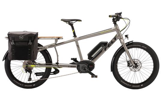 E-Bike News: Felt E-Cargo, New Haibikes, Light & Portable A-Bike, & More! [VIDEOS & PICS]