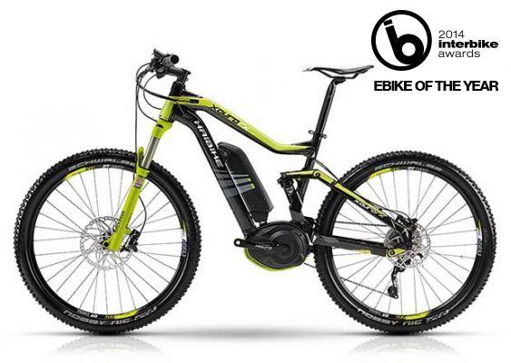 Haibike FS RX electric mountain bike