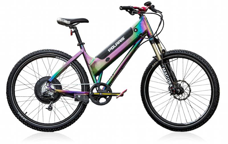Polaris Diesel electric bike