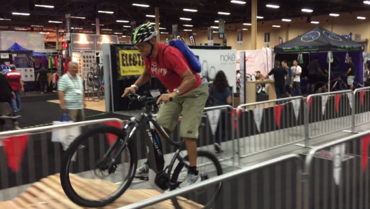 Interbike 2015 E-Bike Report: Test Track & Economical E-Bikes [VIDEOS]