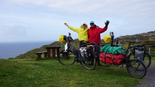 The Statistics of the e-Bike Cycle Tourists World Record Ride after 11,682kms