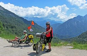 ebike touring europe