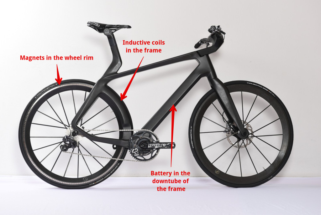velocite maglev electric bike
