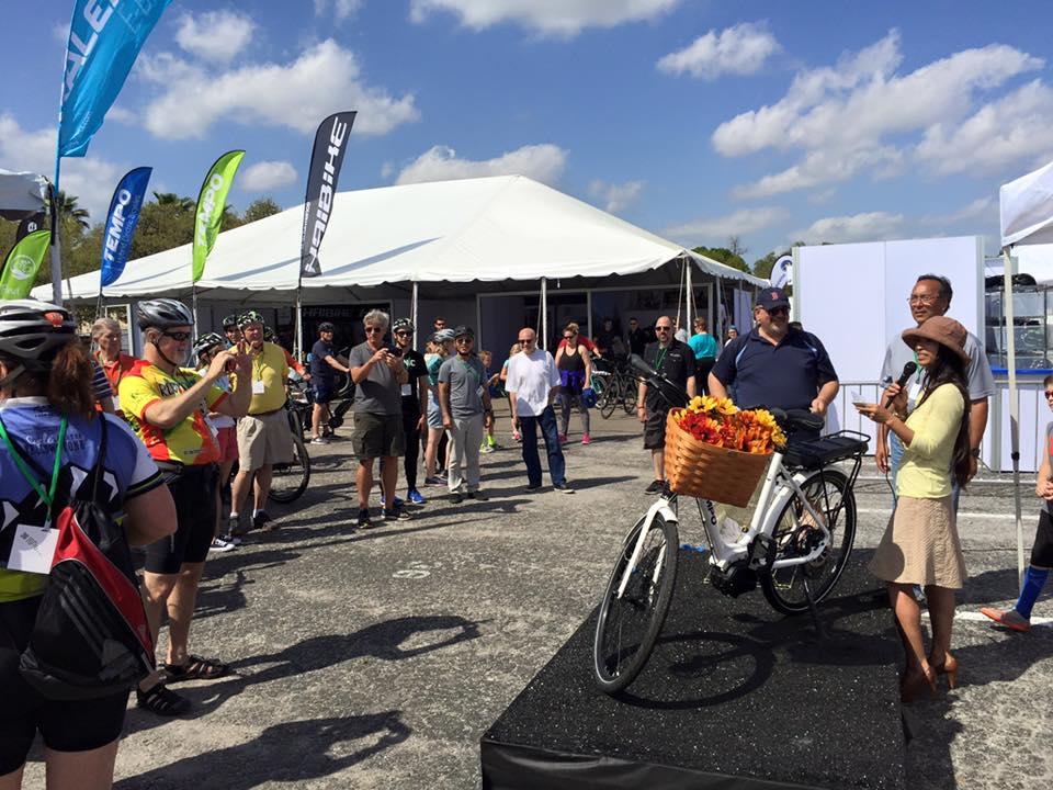 Tempo electric bike raffle charity