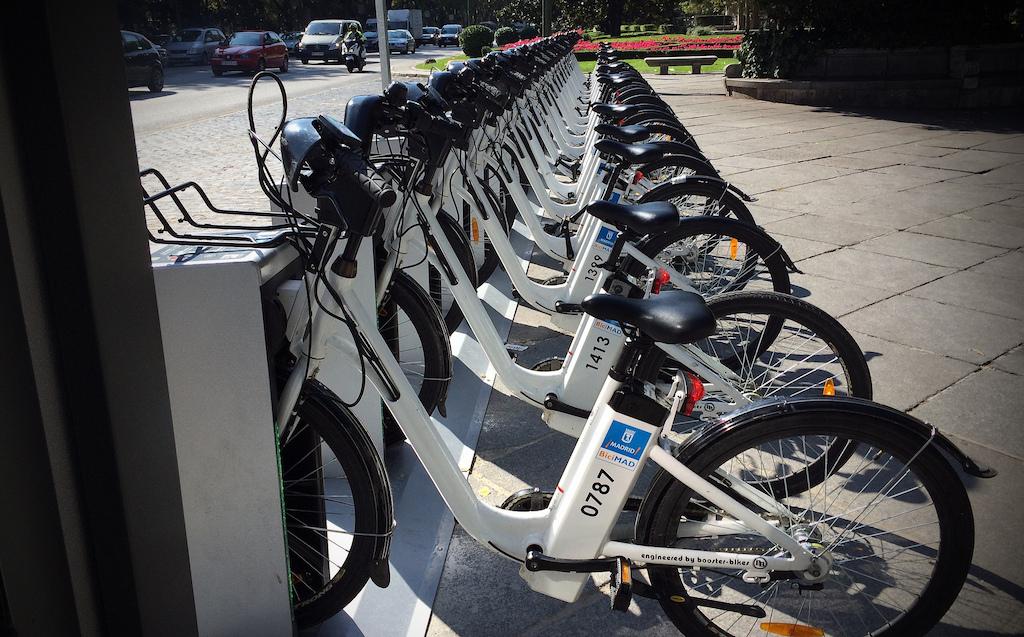 BiciMad electric bike share 1
