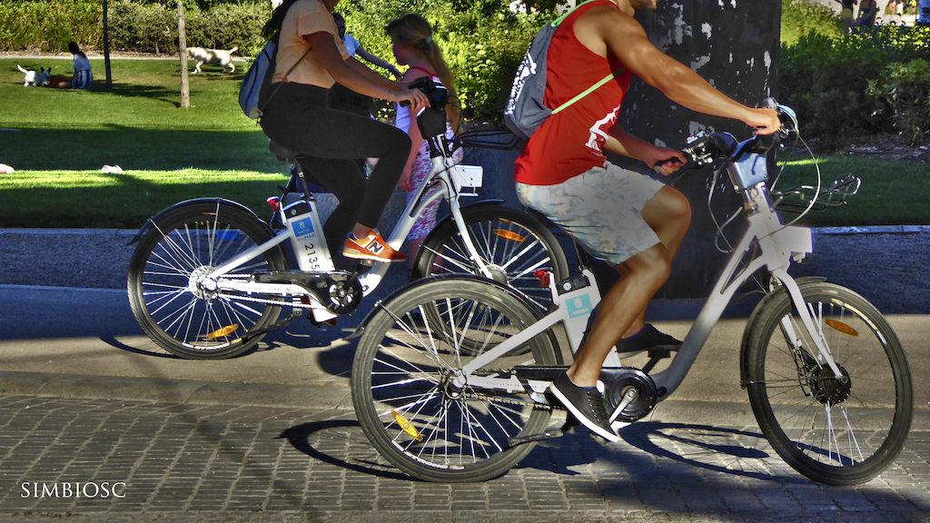BiciMad electric bike share 3