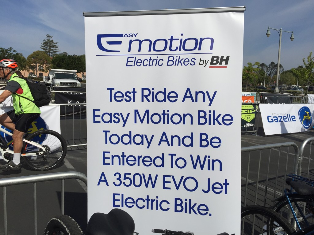 easy motion electric bike giveaway expo