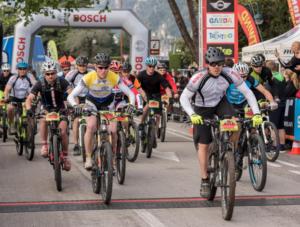 electric mountain bike racing