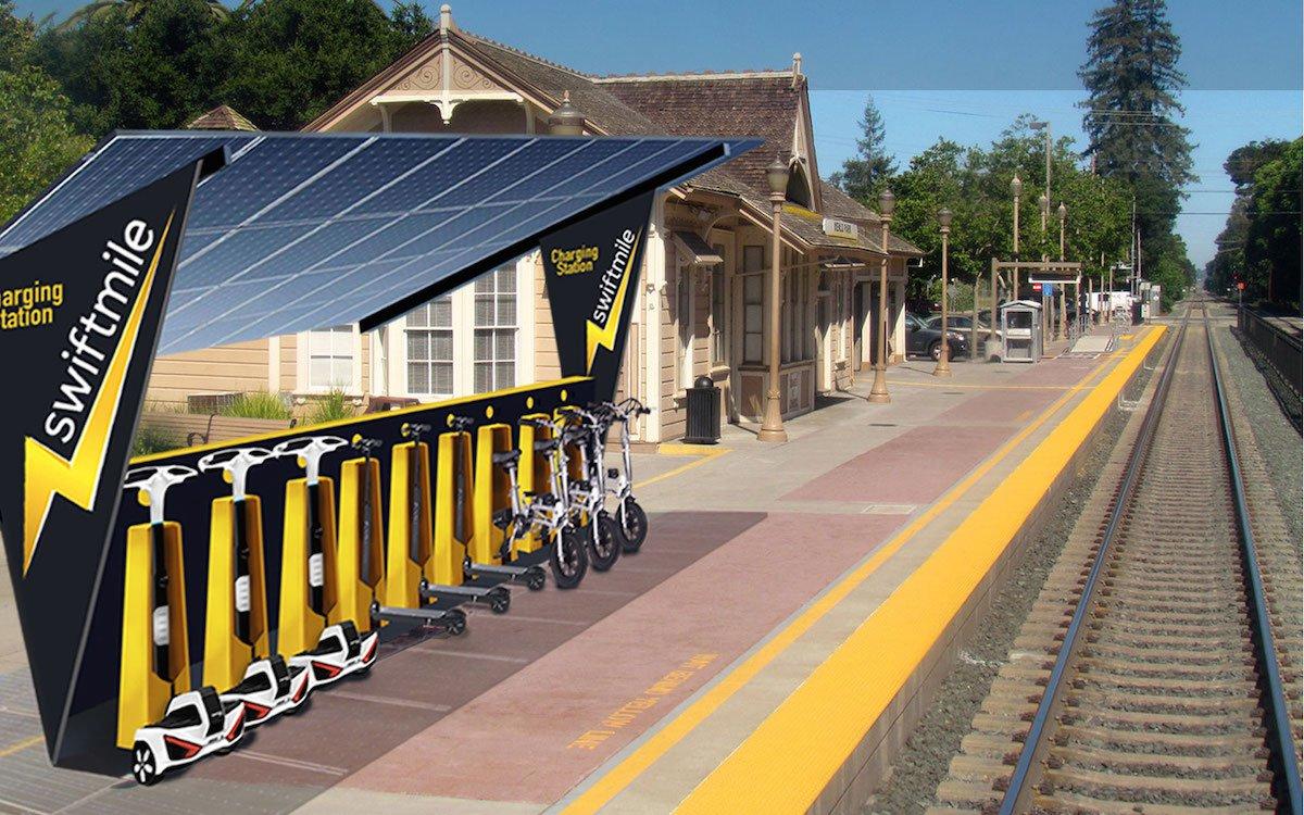 swiftmile electric bike charging 4