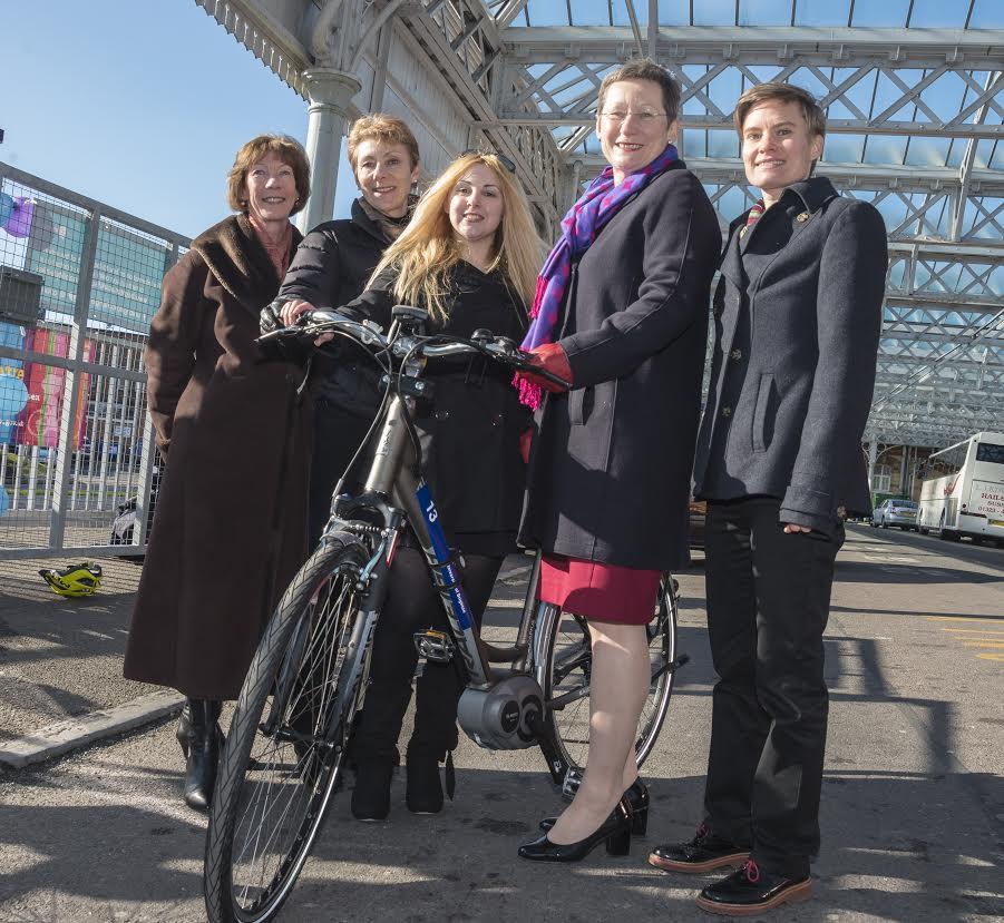 university of Brighton electric bike hire scheme 1