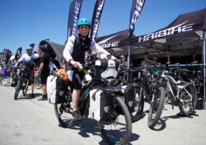 Sand-to-Snow E-Bike Tour kicks off