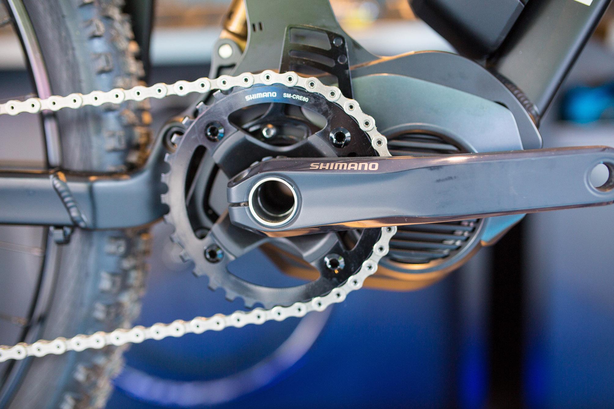Shimano Electric Mountain Bike System 4