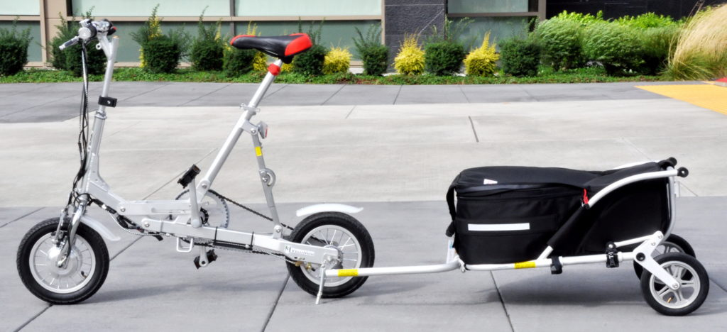 Bicycle trailer 4