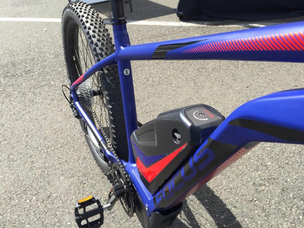 Focus plus size electric mountain bike battery