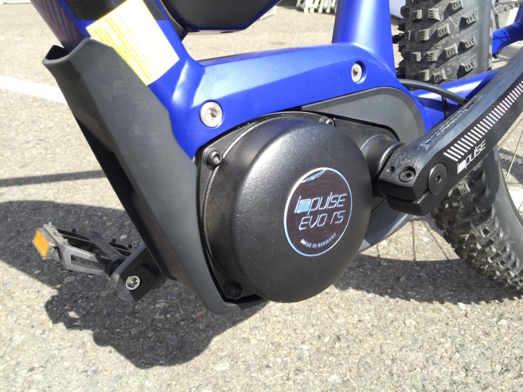 Focus plus size electric mountain bike motor