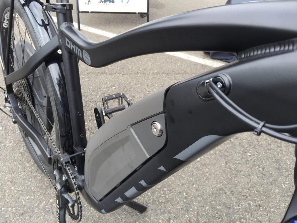 Ohm sport electric bike battery