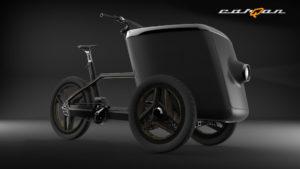 carQon electric cargo trike