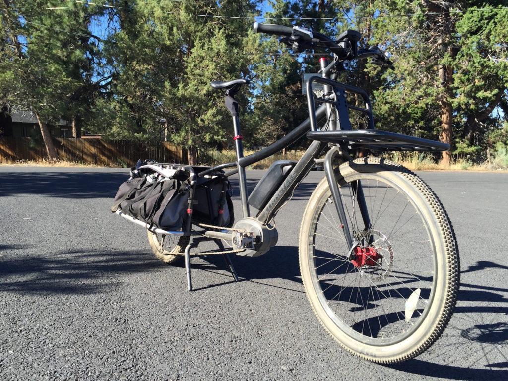 cirrus bodyfloat seatpost xtracycle 10e electric cargo bike