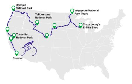 electric bike world record route