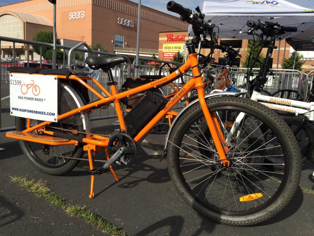 rad power electric cargo bike