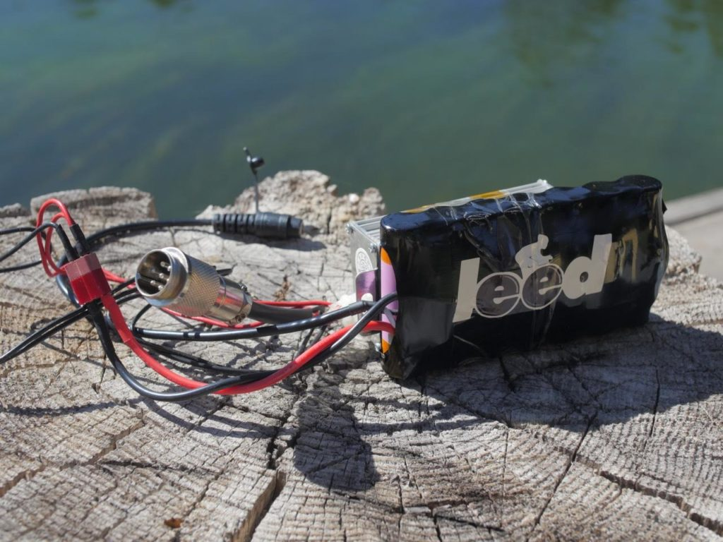 """Witness the smallest and lightest ebike battery made, the LEED """"PBJ"""". About the size of a sandwich, it provides about four miles of boost up to 21mph and charges quickly."""