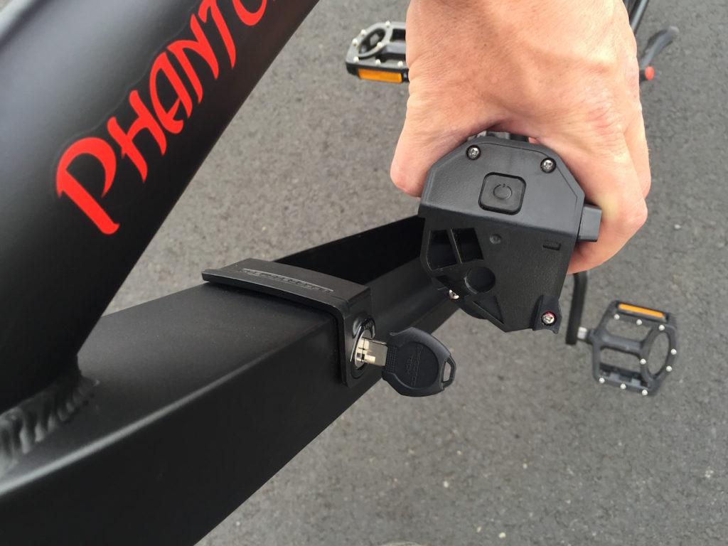 ProdecoTech Phantom XR electric bike battery removal