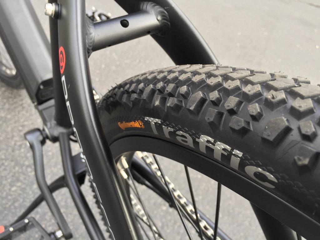 ProdecoTech Phantom XR electric bike continental traffic tire