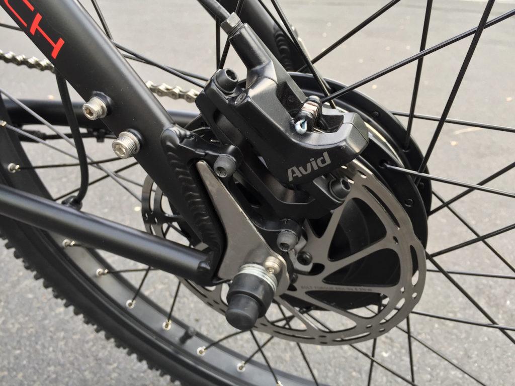 ProdecoTech Phantom XR electric bike rear avid disc brake