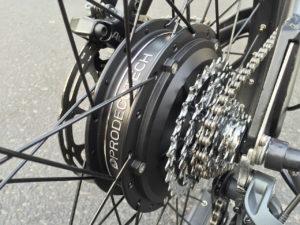 ProdecoTech Phantom XR electric bike rear hub motor