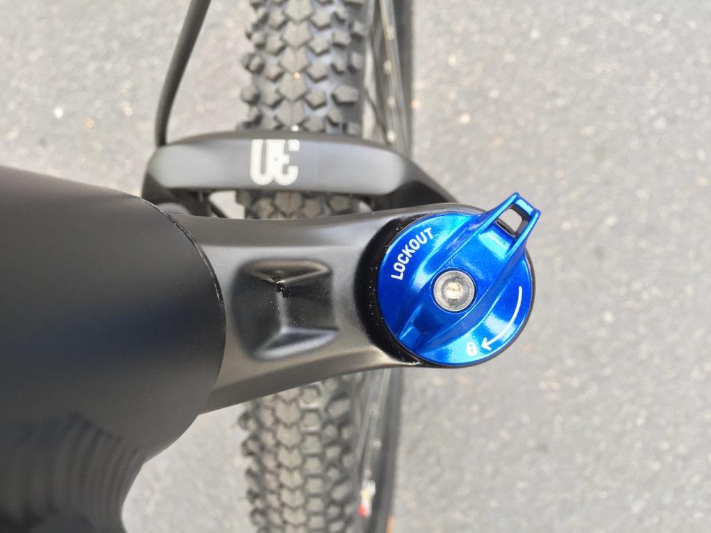ProdecoTech Phantom XR electric bike rockshox fork lockout